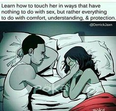 Comfort....understand.....protect