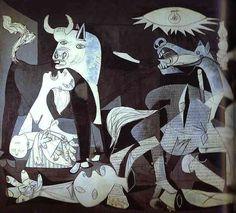 Pablo Picasso - Guernica. Detail. 1937