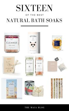 Soothe your aching muscles with these beautiful bath salts and soaks. These bath salts contain clay, salt and essential oils including rose, lavender, eucalyptus. Perfect for a gift for the wellness lover in your life. Bath Tea, Milk Bath, Natural Makeup Brands, Ritual Bath, Macadamia Oil, Vegan Beauty, Natural Skin Care, Natural Life