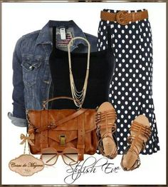 love the polka dots # Casual Outfits for work polka dots Outfits with Converse Sneakers 2013 for Women by Stylish Eve Mode Outfits, Casual Outfits, Summer Outfits, Fashion Outfits, Dress Casual, Jean Outfits, Casual Shoes, Outfits 2014, Casual Dressy