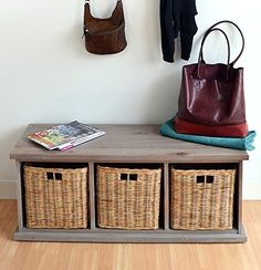 Acacia Bench with wicker baskets, Stunning large storage bench, FULLY ASSEMBLED Tetbury http://www.amazon.co.uk/dp/B00T9JXE92/ref=cm_sw_r_pi_dp_NfQhwb0EAYJTG
