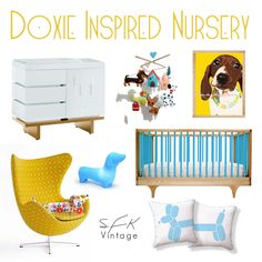 Doxie Inspired Nursery! I'm not saying I would do this or anything....