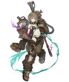 Girls Characters, Fantasy Characters, Anime Characters, Game Character Design, Character Art, Alice, Mode Cyberpunk, Gundam Art, Slayer Anime