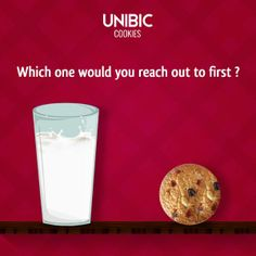 Cookie or milk? Which one would you reach out to?