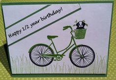 Nanc's Niche of Stampin': HALF YEAR BIRTHDAY