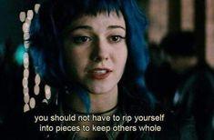 Tv Show Quotes, Film Quotes, Sad Movie Quotes, Glee Quotes, Depressing Quotes, Random Quotes, Citations Film, Vs The World, Movie Lines