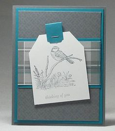 www.dreamingaboutrubberstamps.com - Moon Lake Masculine - Making masculine cards is easy if you follow a few simple tips and use the Moon Lake stamp set with the  Adventure Bounds paper from Stampin Up Occasions 2015 catalogue