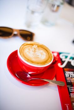 RED CUP FILLED WITH TURKISH COFFEE…..MAN, ONE CUP OF THIS AND YOU'RE READY FOR WHATEVER THE DAY HAS IN STORE…………ccp