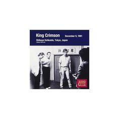King Crimson - Collector's Club 1981.12.09 Tokyo (CD)