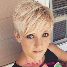 kurzhaarfrisuren blond