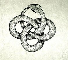 Snake Eating Itself Symbol | The Cult of Eternity's Path – Steal this Snake Cult