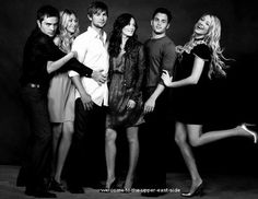 Ed Westwick, Taylor Momsen, Chace Crawford, Leighton Meester, Penn Bagdley, and Blake Lively......<3 them.