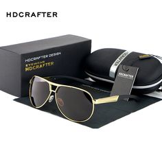 Hot Fashion Men's UV400 Polarized coating Sunglasses men Driving Mirrors oculos Eyewear Sun Glasses for Man with Case Box from Reliable sunglasses safety suppliers on HD Glasses store