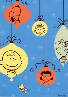 I have loved Peanuts and the Gang my whole life! I read every comic book, had Charlie Brown Sheets and Curtains, and loved all the movies that came on TV from time to time! Peanuts Christmas, Charlie Brown Christmas, Charlie Brown And Snoopy, Christmas Cards, Merry Christmas, Christmas Ornaments, Xmas, Christmas Graphics, Christmas Music