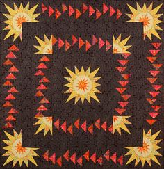 Circling The Sun Quilt Kit ~  Now Available