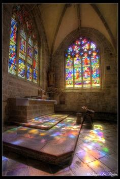 The church of St Ronan, Locronan, | Finistère Bretagne