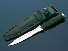 SOG Desert Dagger. My favorite fixed blade knife. Out of production and difficult to find