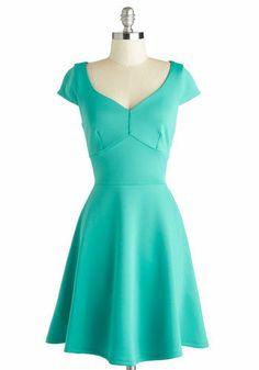 Teal Your Heart Dress / Mod Retro Vintage Dresses / ModCloth.com