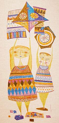 :) Evelyn Ackerman tapestries