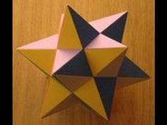 Manualidad: Octaedro Estelado en Origami- Hogar Tv  por Juan Gonzalo Angel