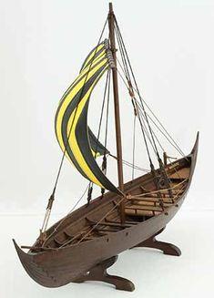 Viking ship model Skuldelev 3