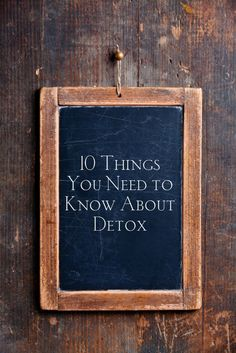 Detox was an integral part of my overcoming Hashimoto's disease so I believe it's an incredibly important tool. Here are 10 things you need to know about detoxing.