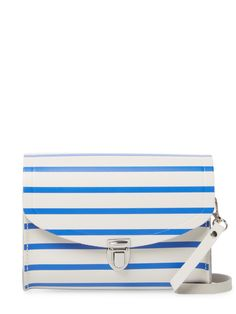 The Cambridge Satchel Company Stripes Leather Crossbody Bag, Edgy Hipster, Summer Accessories, Cambridge Satchel, Shoulder Strap, Shoulder Bags, Leather Crossbody Bag, Logo Design, Product Launch, Stripes