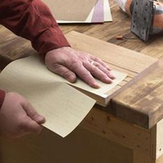 Sandpaper Cutter Woodworking Plan, Workshop & Jigs Jigs & Fixtures Workshop & Jigs $2 Shop Plans