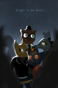 """ammeja: """"finally finished Night in the Woods what a great game """""""