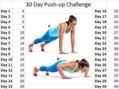 30-Day Push-Up Challenge | 30 day push up challenge - cause I suck at push ups