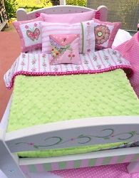 Doll Bedding, In the Hoop - 6x10 | In the Hoop | Machine Embroidery Designs | SWAKembroidery.com
