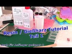 Resin / Casting resin Tutorial German / DIY / Part 1 Youtube Design, Crochet Baby Costumes, Soundproofing Material, Resin Tutorial, Epoxy Floor, Resin Casting, Acrylic Pouring, Resin Art, Diy And Crafts