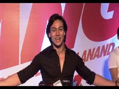 Tiger Shroff at the special screening of the movie BANG BANG.