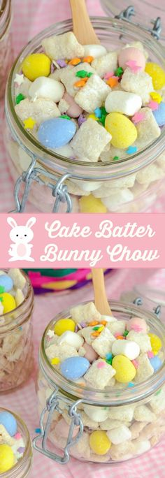 Cake Batter Bunny Chow!: