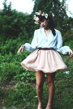 Melanie Martinez, pastel clothes, blue, pink, music, song, crybaby