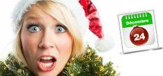 Calendrier de l'avent pour les grands… ou comment éviter le stress de l'organisation d'un Noël chez soi !