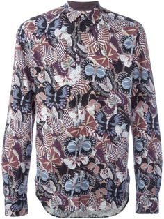 Shop Valentino butterfly print shirt in Vinicio from the world's best independent boutiques at farfetch.com. Shop 400 boutiques at one address.