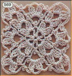 Transcendent Crochet a Solid Granny Square Ideas. Inconceivable Crochet a Solid Granny Square Ideas. Crochet Motif Patterns, Granny Square Crochet Pattern, Square Patterns, Crochet Chart, Crochet Squares, Love Crochet, Crochet Stitches, Granny Squares, Knitting Patterns