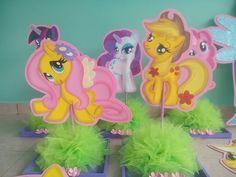 My little pony...centros de mesa