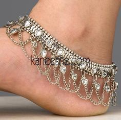 I love my Indian anklets