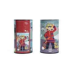Londji Παζλ - Πυροσβέστης Games Box, Puzzle Toys, Puzzles, Cow, Puzzle, Stuffing