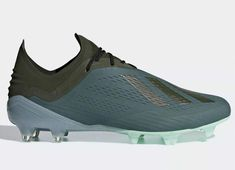 Sculpted for speed, these Adidas X FG Cold Mode football boots are stripped down to the essentials. Adidas Soccer Boots, Adidas Football, Football Shoes, Soccer Shoes, Custom Football Cleats, Soccer Gear, Soccer Stuff, Soccer Accessories, Liverpool Soccer