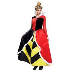 Queen Of Hearts Halloween Costume, Halloween Dress, Halloween Costumes, Witch Costumes, Alice Halloween, Women Halloween, Adult Halloween, Halloween Makeup, Adult Costumes
