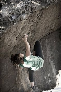 Bouldering in Joe's Valley, Orangeville, Utah