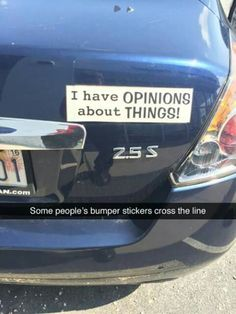 Funny Bumper Stickers Miscjunk Pinterest Funny Bumper - 26 funniest bumper stickers ever