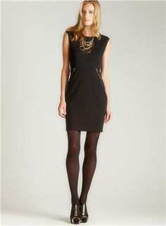 Simple, yet sophisticated Calvin Klein dress from Loehmann's.