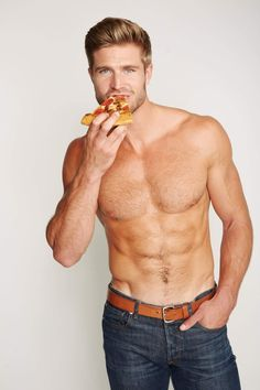 Hot Guys Eating Hot Pizza: You're Welcome
