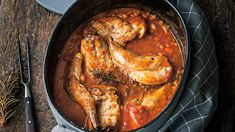 Rabbit: This roast tastes great – tender and mild in taste - Fleisch Kitchen Time, Asian Cooking, Roast Beef, Chicken Wings, Oven, Food And Drink, Low Carb, Snacks, Meals