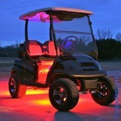 20 Tricked Out Golf Carts, Accessories