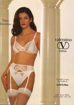 Classic Lingerie, Vintage Lingerie, Lingerie Catalog, Sexy Poses, Bikinis, Swimwear, Valentino, Pin Up, Underwear